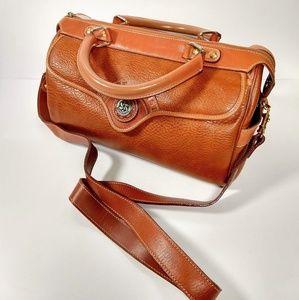 Vintage St. Borse leather satchel shoulder straps